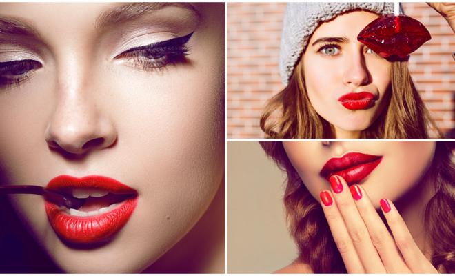 Colores de sombras con los que puedes combinar tu labial rojo