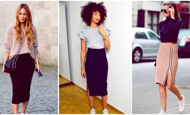 Reglas para usar una falda lápiz y lucir elegante