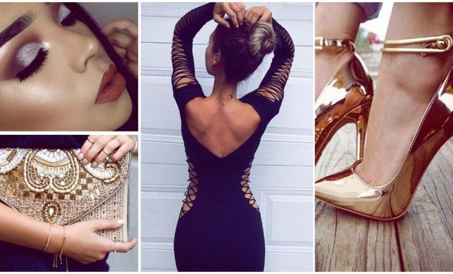 Cómo combinar un simple vestido negro para verte fabulosa