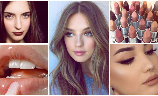 Cómo pintar tus labios delgados sin problemas