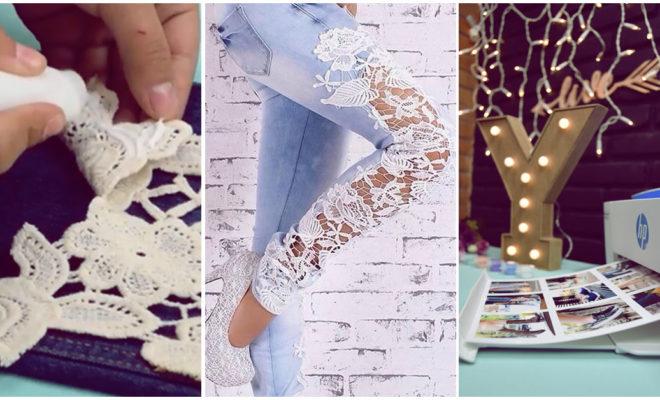DIY Cámbiale el look a tus jeans viejos con esta increíble idea