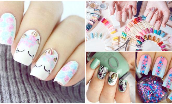 Así aprendí a pintar diseños originales en mis uñas