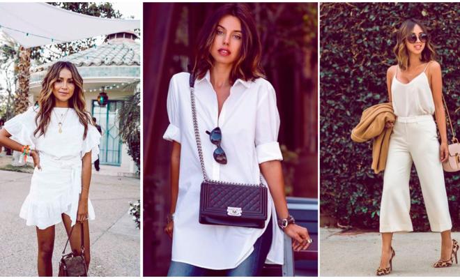 Errores que estás cometiendo al combinar tus prendas blancas