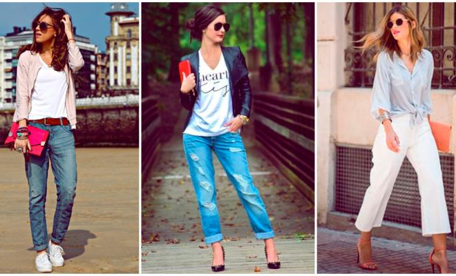 Outfits con jeans: perfectos para salir de día y de noche