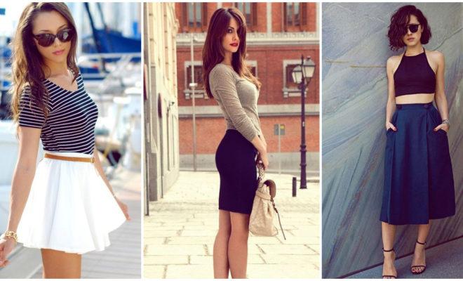 Faldas que te hacen lucir un trasero más voluptuoso