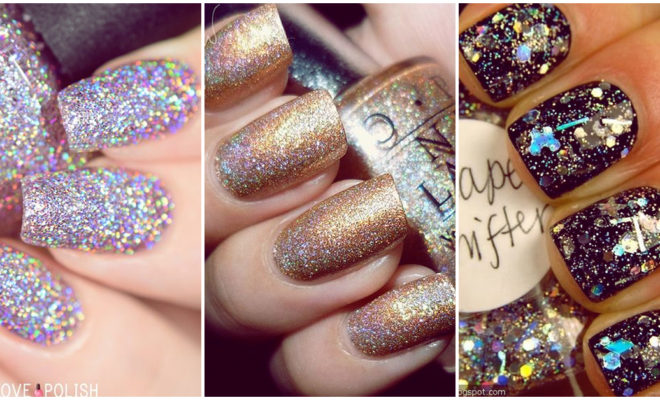 Haz que tus uñas brillen más con estos hermosos diseños con glitter