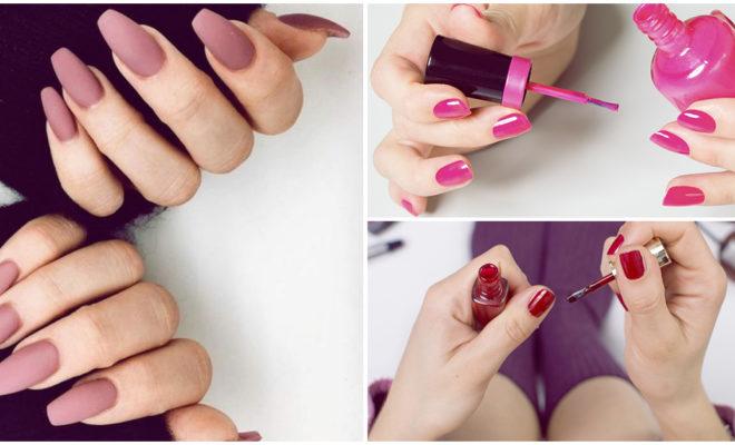 Este es el modo correcto de pintar tus uñas, ¡dile adiós a los desastres!