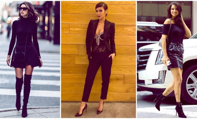 Pros y contras de vestir de negro todo el tiempo