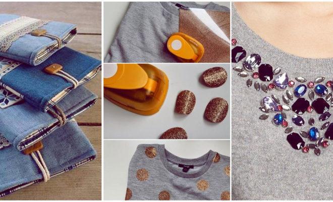 Proyectos DIY de moda que definitivamente tienes que intentar con tu ropa vieja