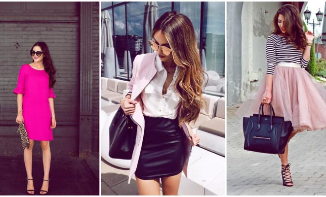 Looks para las chicas que aman lucir femeninas ¡en color rosa!