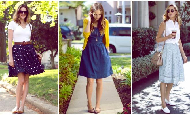 Flats que puedes usar con cualquier falda o vestido