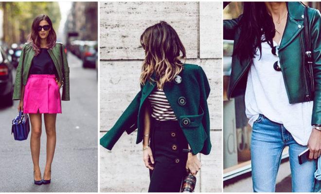 Combinaciones super elegantes que puedes hacer con color verde