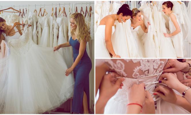 Reglas que debes seguir el día que elijas tu vestido de novia
