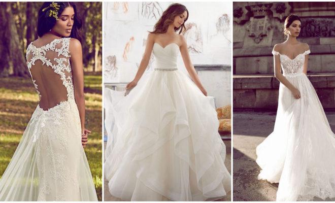 El vestido de novia que debes usar de acuerdo a tu figura