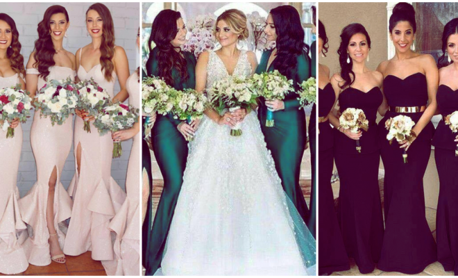 Increíbles colores con los que querrás vestir a tus damas de honor este 2018