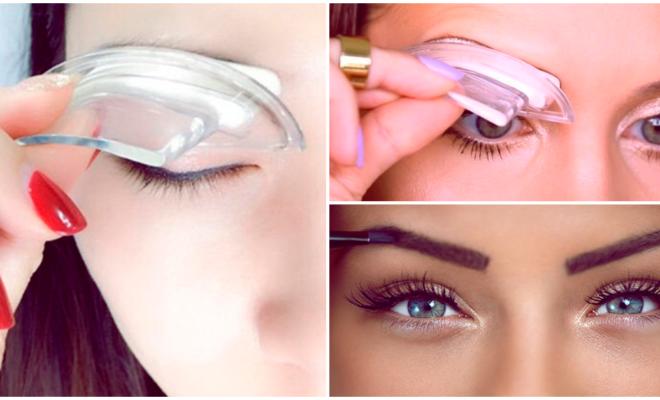 ¿Estamparías tus cejas?, dicen que el resultado es mejor…