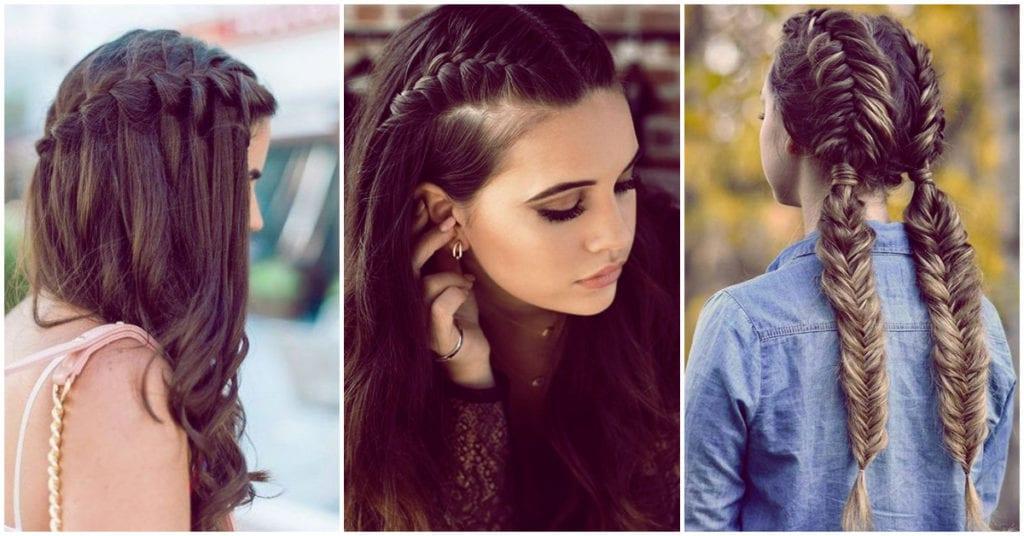 Peinados con trenzas que tienes que probar, ¡serán tu salvación y te verás hermosa!