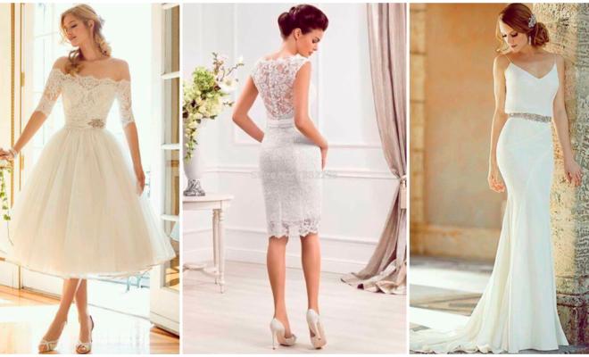 Hermosos vestidos que puedes usar si te vas a casar por lo civil