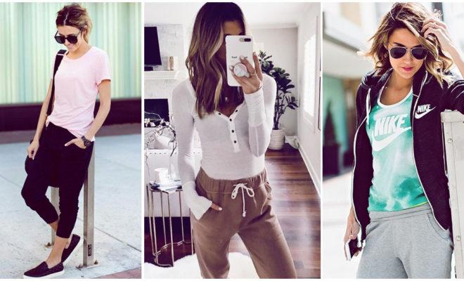 Outfits con pantalones joggers super cómodos y fáciles de usar