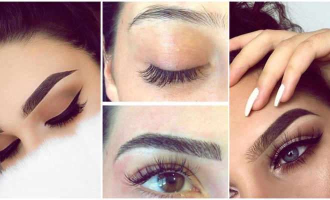 Pros y contras de hacer gruesas tus cejas delgadas con makeup o microblading