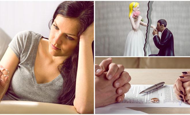 Razones por las que las parejas se divorcian y no es infidelidad