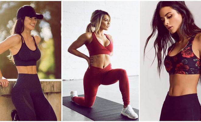 Lencería sport para las chicas que aman el ejercicio