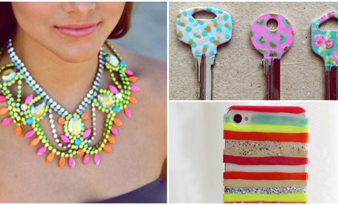 Ideas para decorar tus cosas con tus esmaltes de uñas