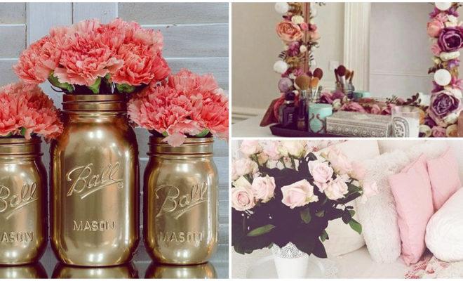 Decora tu habitación con flores para recibir a la primavera
