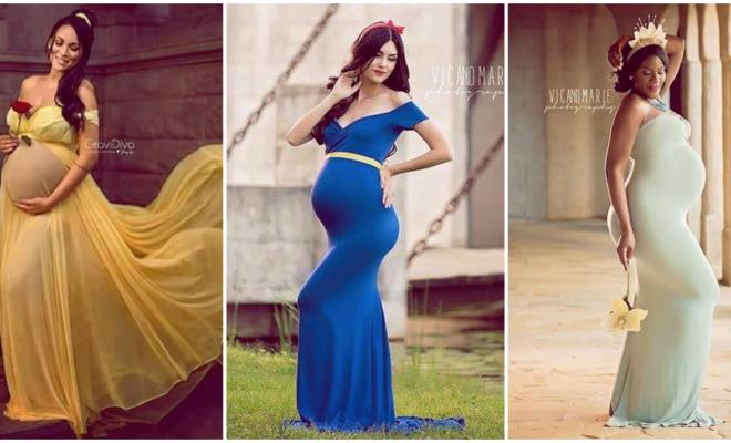 Lucir como princesa en el embarazo ¡también es posible!