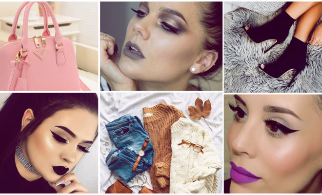 Outfits que puedes usar con cualquier labial oscuro