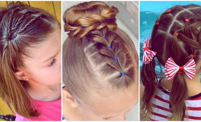 Peinados sencillos que puedes hacerle a tu pequeña