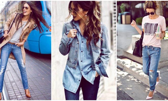 Combina tus jeans como toda una experta