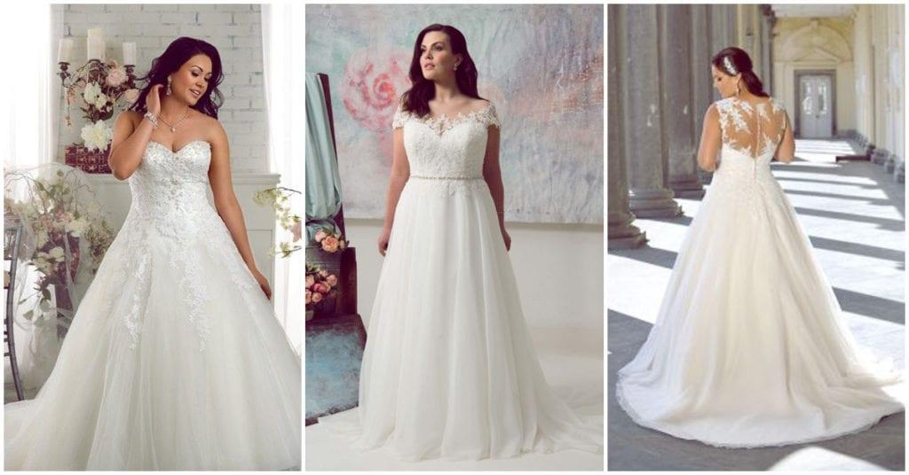 Tip de expertos: vestidos de novia ideales para chicas curvy