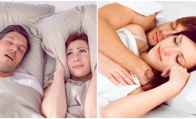 Vuelve a dormir como bebé aunque tu esposo ronque