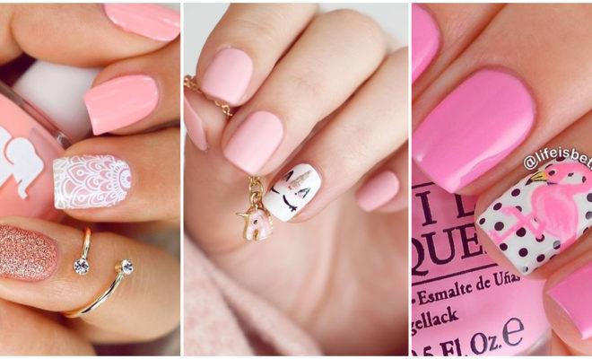 Manicuras color rosa que te van a encantar
