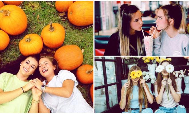Ideas de outfits con tus mejores amigas para una sesión de fotos casual