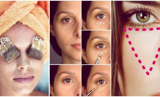 Cómo maquillar los círculos negros bajo los ojos