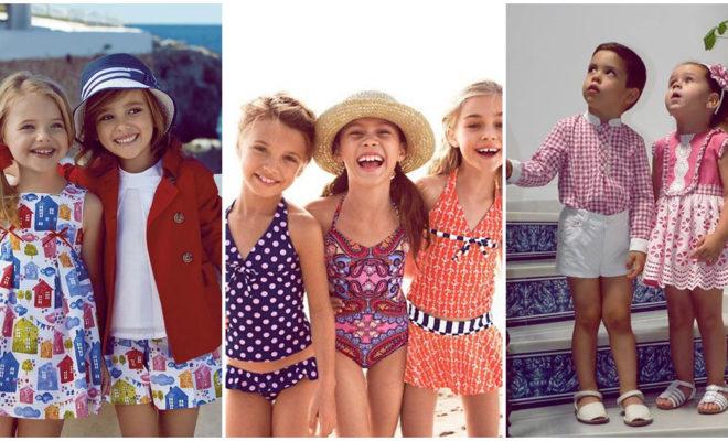 Outfits primaverales para niños