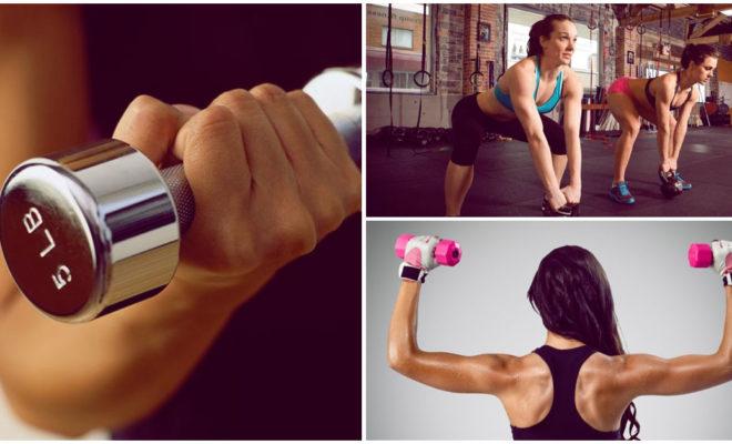 Rutina de solo 15 minutos para fortalecer tus brazos en el gym