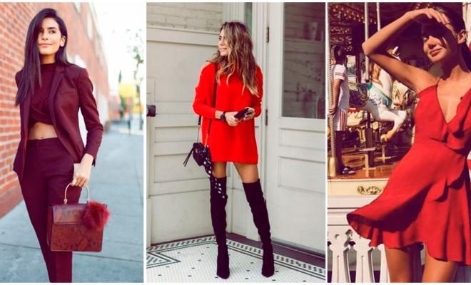 Outfits rojos: cuándo sí y cuándo no debes usarlos