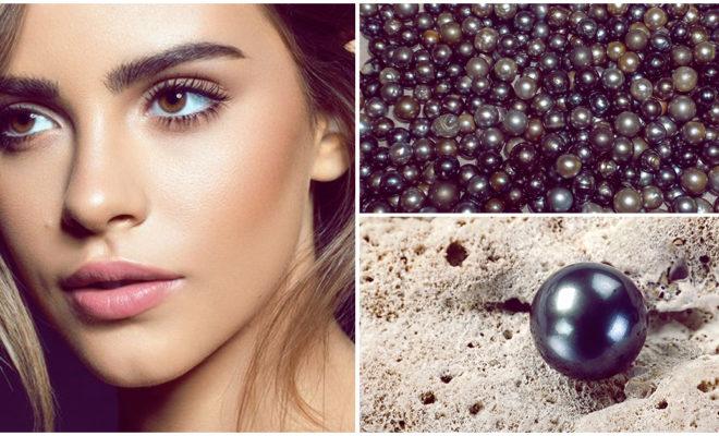 Extracto de perla negra para mantener tu cutis joven por más tiempo