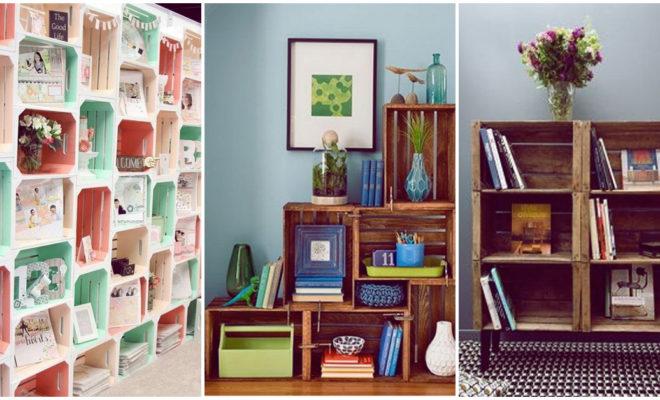 Decora ese rincón de tu hogar haciendo este sencillo librero, ¡lucirá hermoso!