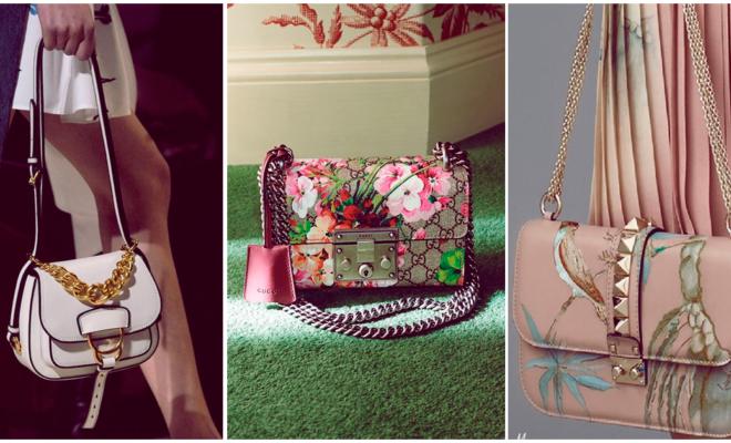 Si eres una chica romántica, estos son los bolsos para ti