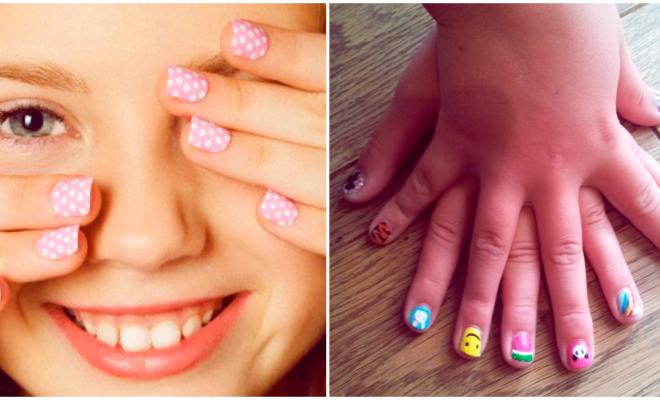 ¿Es buena o mala idea pintarle las uñas a tu hija? 🤔💅
