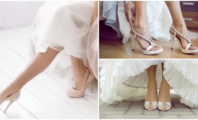 Errores que no debes cometer al elegir tus zapatos a la hora de casarte