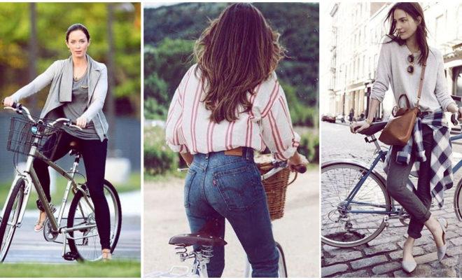 Outfits cómodos y lindos para andar en bici