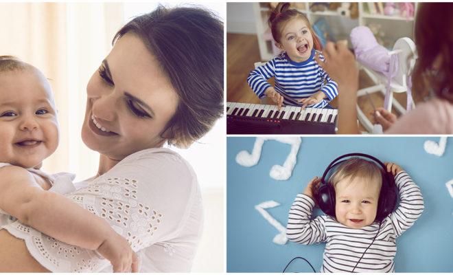 Estimula el cerebro de tu bebé con música