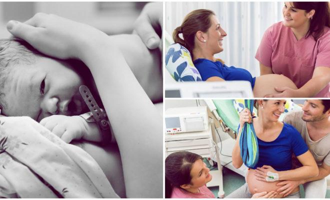 La presencia de papá en el parto aumenta el dolor de mamá