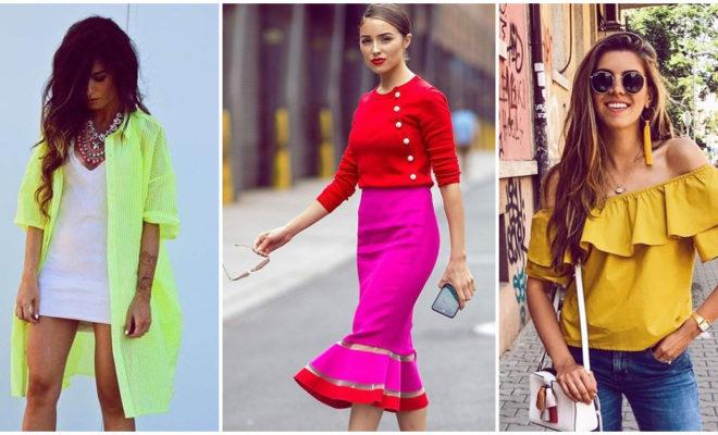 Errores que las chicas cometemos cuando escogemos ropa de color