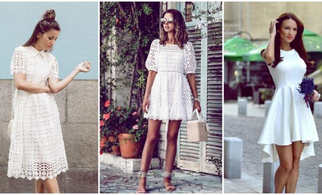 Razones para tener un vestido blanco en tu guardarropa